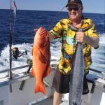 coral trout Red Emperor Western Australia fishing charter Blue Lightning Charters