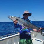 Wahoo Montebello Islands WA fishing charter