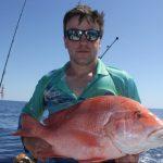 Red Emperor Blue Lightning WA fishing charter