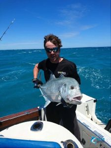GT Giant Trevally WA Fishing charter Australia