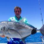 GT WA fishing charter Australia