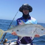 WA Fishing Charter Gold Spot Trevally Montebello Islands