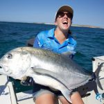 GT Giant Trevally Montebello Islands Fishing charter Blue Lightning Charters