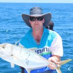 Golden Trevally Montebello Islands Fishing charter Blue Lightning Charters