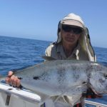 Gold Spot Trevally Montebello Islands WA fishing charter