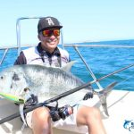 GT Giant Trevally Australia Montebello Islands fishing