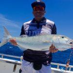 Green Job fish jig Montebello Islands Fishing charter Blue Lightning Charters