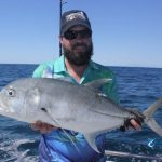 GT Giant Trevally awesome fishing WA charter Blue Lightning fishing charters