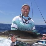 Cobia Montebello Islands Fishing charter Blue Lightning Charters