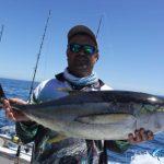 Yellow fin tuna Montebello Islands Fishing charter Blue Lightning Charters