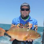 Coral Trout Montebello Islands WA fishing charter Blue Lightning charters