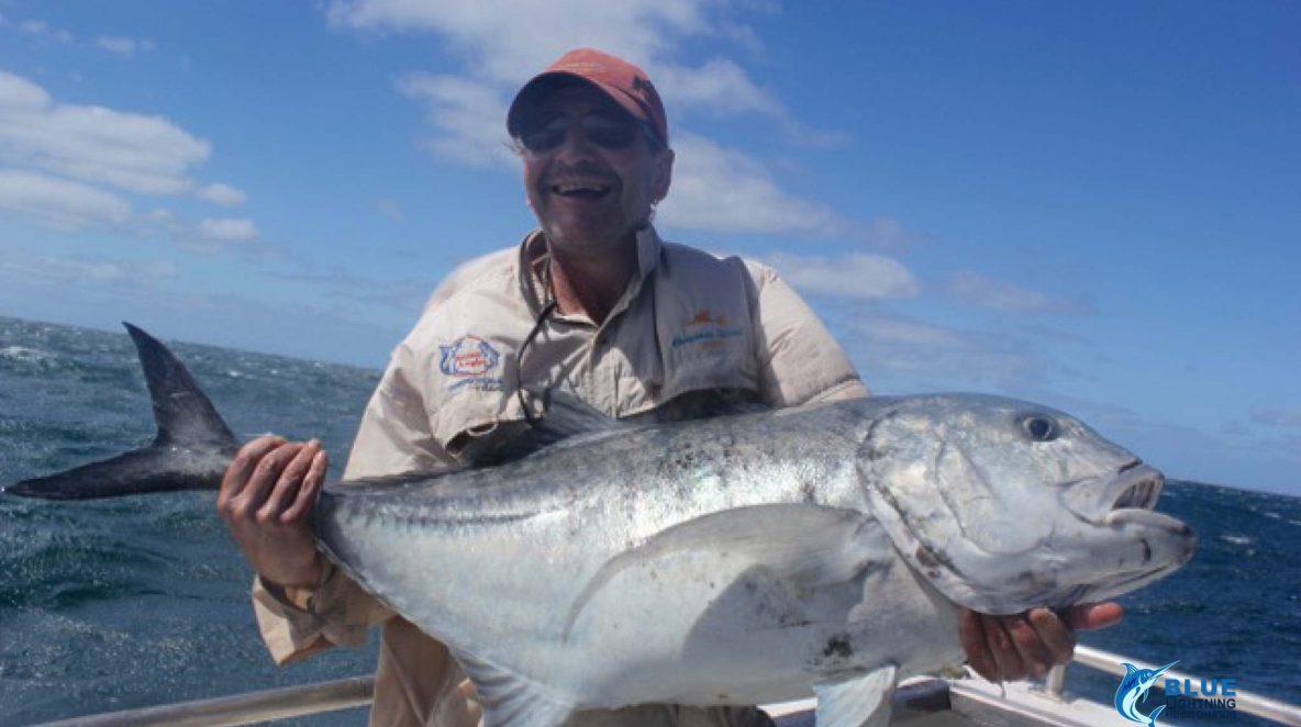 Giant Trevally PB Montebello Islands WA fishing charter
