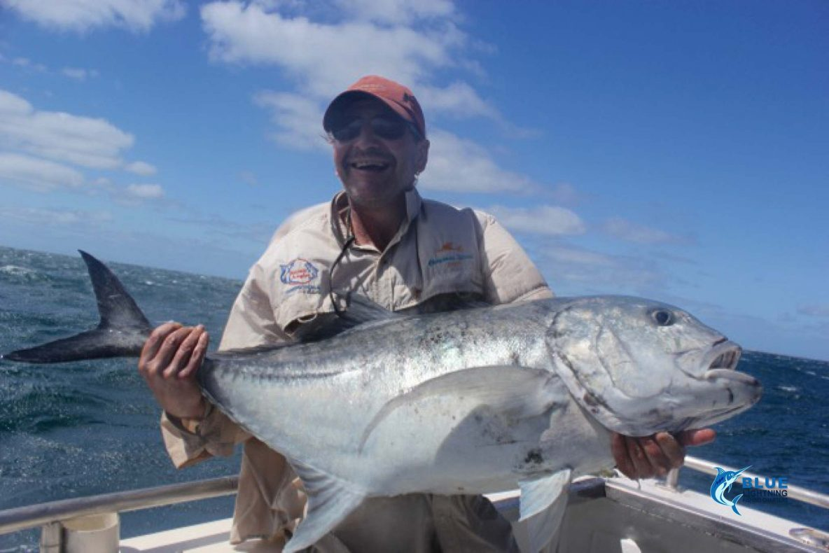Mackerel and gt adventures at the montebello islands for Wa fishing charters