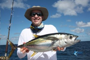 Yellow Fin Tuna Abrolhos Islands Blue Lightning Chad Mills