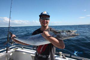 Spanish Mackerel Abrolhos Islands fishing charter best WA