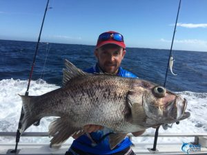 Dhu Fish Wa fishing charter Blue Lightning Chad Mills