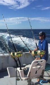 Blue Lightning Charters Captain Chad Mills fishing tips