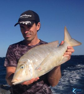 WA Spangled Emperor Blue Lightning fishing charters