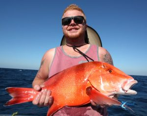 Abrolhos Islands Red Emperor fishing charter
