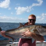 Abrolhos Islands trolling Samson fish