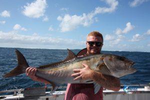 Abrolhos Islands trolling Samson fish