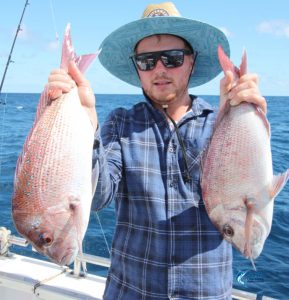 Abrolhos Islands Pink snapper double header