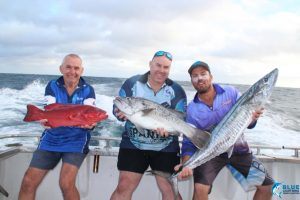 father son fishing charter Abrolhos Islands