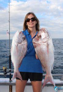 Pink Snapper Chad Mills Fishing WA