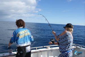 Spanish Mackerel fishing WA Abrolhos Islands