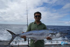 Spanish Mackerel beginner fishing wa abrolhos islands fishing charter