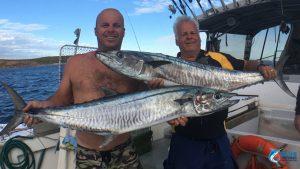 Montebello Islands Spangled Emperor Blue Lightning Fishing charters