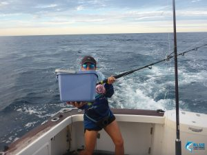 Blue Lightning Fishing charter fun