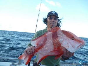 Abrolhos islands WA fishing charter Red emperor live aboard blue lightning charters