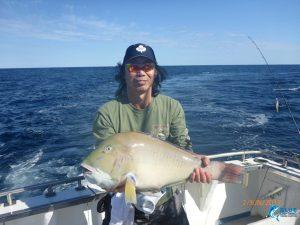 Abrolhos islands baldchin groper individual fishing charter live aboard WA