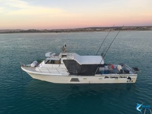 WA coastline Blue Lightning Fishing charters