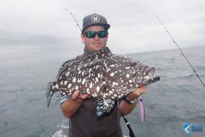 Rankin Cod WA fishing charter Captain Chad Mills