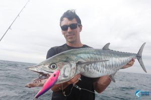 WA montebello islands fishing spanish mackerel Jason Taylor