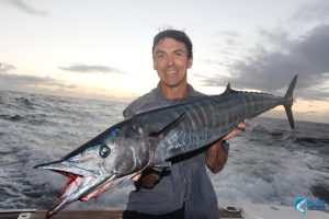 Montebello Islands Wahoo Jason Taylor WA fishing charter Blue Lightning charters