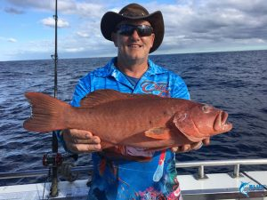 Coral Trout WA fishing charter Abrolhos islands blue lightning chad mills