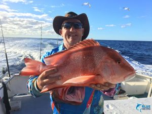Red Emperor WA fishing blue lightning III Chad Mills fishing charter