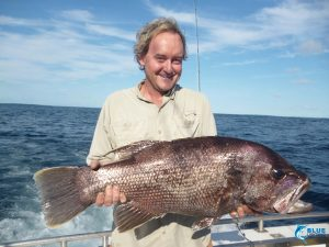 Blue Lightning Charters fishing Dhu fish