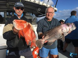 Dhu Fish Red Emperor live aboard fishing charter WA