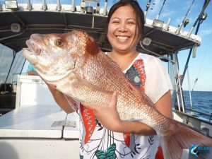 PInk Snapper Blue Lightning Fishing charters best WA charter