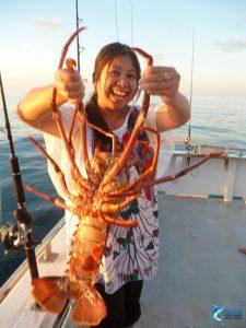 Crayfish WA fishing charter