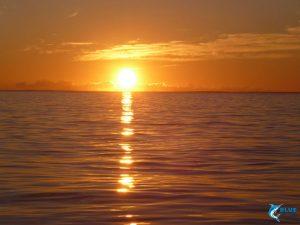 WA seascape sunset Blue Lightning charters