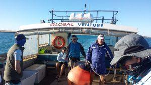 Global Venture Wa fishing charter Montebello Islands captain chad mills