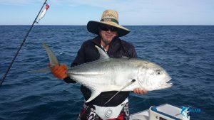 Trevally Montebello Islands WA fishing charter live aboard WA