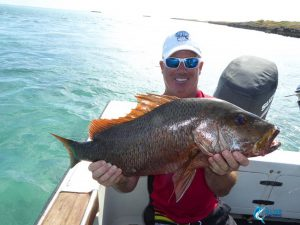 Mangrove Jack Montebello Islands fishing charter blue lightning charters