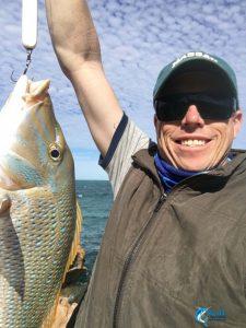 Spangled Emperor WA fishing charter blue lightning charters