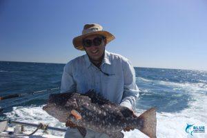 Rankin Cod Montebello Islands WA fishing charter big fish